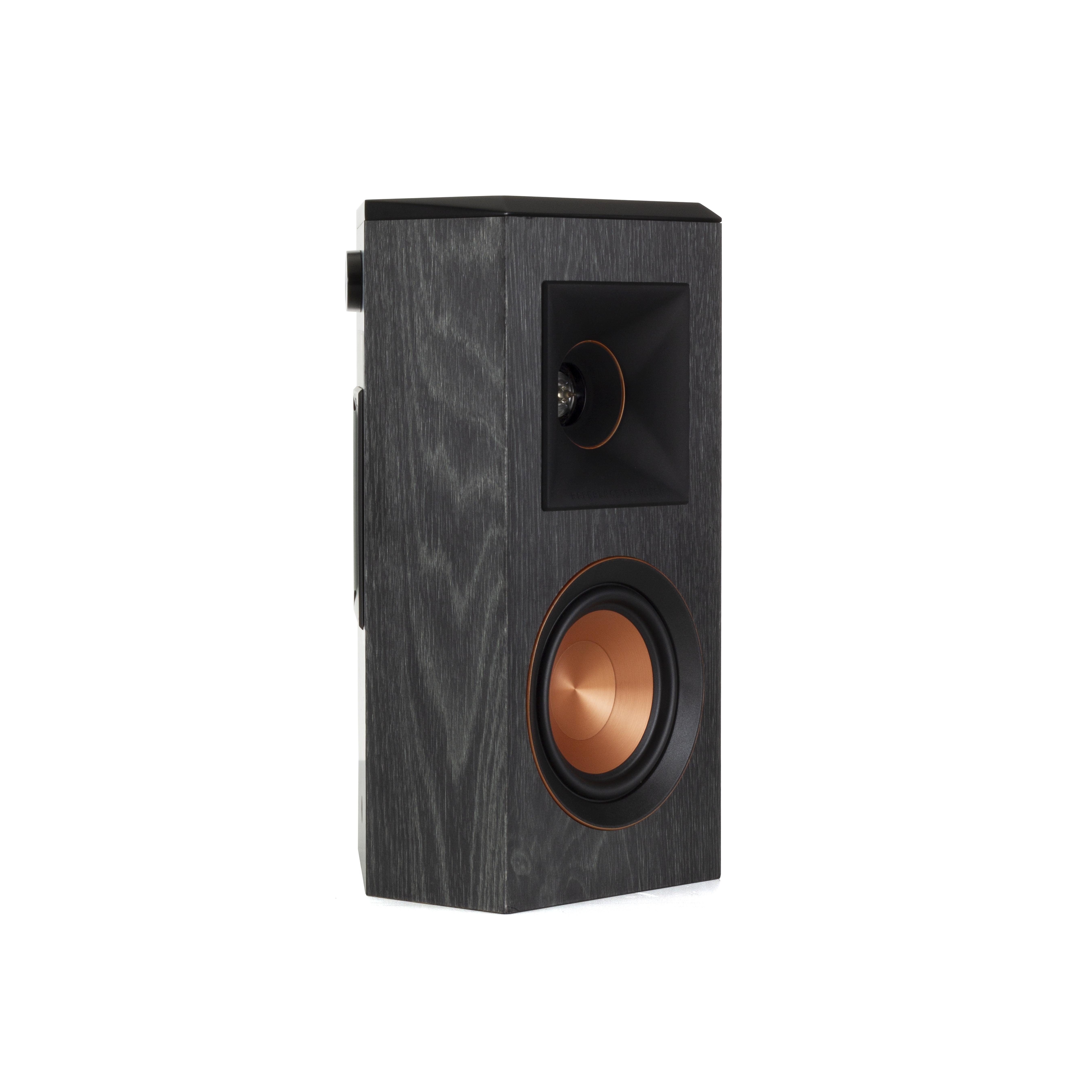 Pair Klipsch RP-402S Surround Sound Speakers Walnut